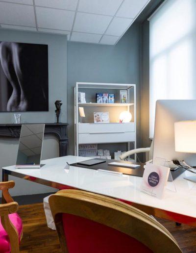 bureau cabinet esthétique dr Gret